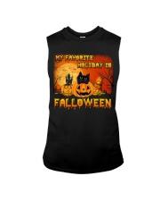 My favorite holiday is falloween Sleeveless Tee thumbnail