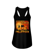 My favorite holiday is falloween Ladies Flowy Tank thumbnail