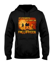 My favorite holiday is falloween Hooded Sweatshirt thumbnail