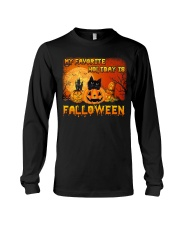 My favorite holiday is falloween Long Sleeve Tee thumbnail