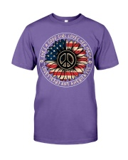 Hippie sunflower she's a good girl loves her mama  Premium Fit Mens Tee thumbnail