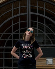 There's this boy he kinda stole my heart he calls  Ladies T-Shirt lifestyle-women-crewneck-front-1