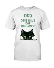 OCD obsessive cat disorder Classic T-Shirt thumbnail