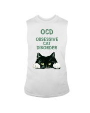 OCD obsessive cat disorder Sleeveless Tee thumbnail