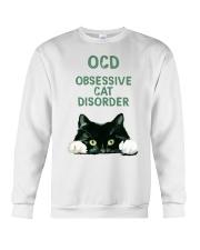 OCD obsessive cat disorder Crewneck Sweatshirt thumbnail