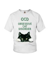 OCD obsessive cat disorder Youth T-Shirt thumbnail