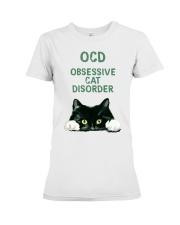 OCD obsessive cat disorder Premium Fit Ladies Tee thumbnail