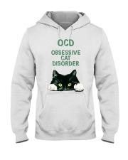 OCD obsessive cat disorder Hooded Sweatshirt thumbnail