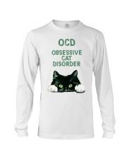 OCD obsessive cat disorder Long Sleeve Tee thumbnail