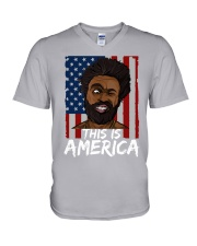 This is America V-Neck T-Shirt thumbnail