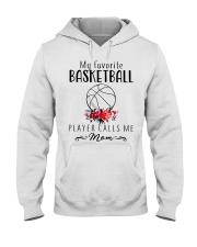 my favorite basketball player calls me mom Hooded Sweatshirt thumbnail