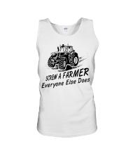 Screw a farmer everyone else does  Unisex Tank thumbnail
