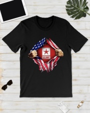Us army inside me american flag Premium Fit Mens Tee lifestyle-mens-crewneck-front-17