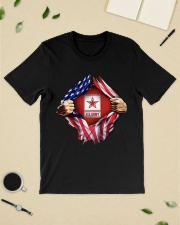 Us army inside me american flag Premium Fit Mens Tee lifestyle-mens-crewneck-front-19