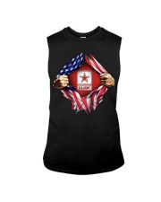 Us army inside me american flag Sleeveless Tee thumbnail