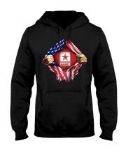 Us army inside me american flag Hooded Sweatshirt thumbnail
