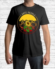 Sunflower I hate people Classic T-Shirt lifestyle-mens-crewneck-front-1