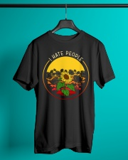 Sunflower I hate people Classic T-Shirt lifestyle-mens-crewneck-front-3