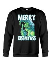 Merry Kissmyass Crewneck Sweatshirt thumbnail