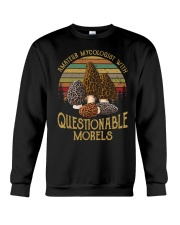 Amateur mycologist with questionable morels Crewneck Sweatshirt thumbnail