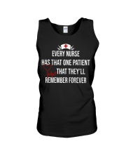 Every nurse has that one patient that they'll reme Unisex Tank thumbnail