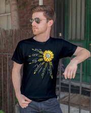 Sunflower you are my sunshine Premium Fit Mens Tee lifestyle-mens-crewneck-front-2