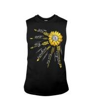 Sunflower you are my sunshine Sleeveless Tee thumbnail