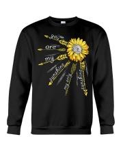 Sunflower you are my sunshine Crewneck Sweatshirt thumbnail