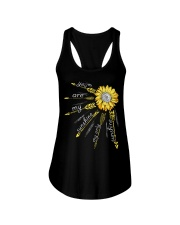 Sunflower you are my sunshine Ladies Flowy Tank thumbnail