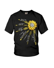 Sunflower you are my sunshine Youth T-Shirt thumbnail