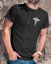You can't scare me I'm a CNA I've seen it all  Classic T-Shirt lifestyle-mens-crewneck-front-4
