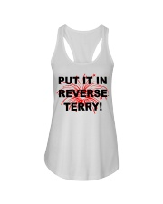Put it in reverse Terry Ladies Flowy Tank tile