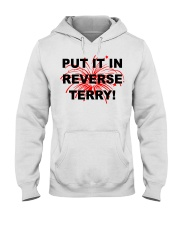 Put it in reverse Terry Hooded Sweatshirt tile