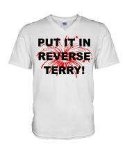 Put it in reverse Terry V-Neck T-Shirt thumbnail