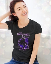 Ursula poor unfortunate souls  Ladies T-Shirt lifestyle-holiday-womenscrewneck-front-1
