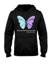 Butterfly no story should end too soon Hooded Sweatshirt thumbnail