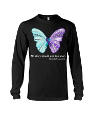 Butterfly no story should end too soon Long Sleeve Tee thumbnail