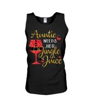 Auntie needs her jingle juice glitter Christmas  Unisex Tank thumbnail