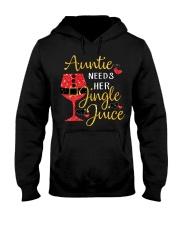Auntie needs her jingle juice glitter Christmas  Hooded Sweatshirt thumbnail
