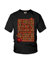 There is no such thing as too many books Youth T-Shirt thumbnail