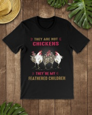 They are not chickens they're my feathered  Premium Fit Mens Tee lifestyle-mens-crewneck-front-18