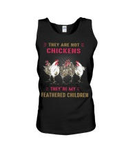 They are not chickens they're my feathered  Unisex Tank thumbnail