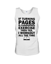 If turning pages is considered exercise  Unisex Tank thumbnail