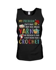 My Problem Isn't That I Buy Too Much Yarn  Unisex Tank thumbnail