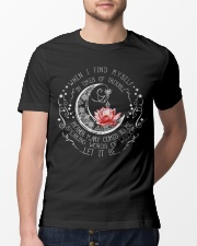 Lotus when i find myself in times of trouble mothe Classic T-Shirt lifestyle-mens-crewneck-front-13