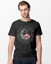 Lotus when i find myself in times of trouble mothe Classic T-Shirt lifestyle-mens-crewneck-front-15