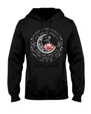 Lotus when i find myself in times of trouble mothe Hooded Sweatshirt thumbnail