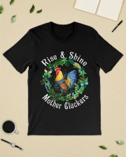 Chicken rise and shine mother cluckers Classic T-Shirt lifestyle-mens-crewneck-front-19