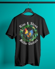 Chicken rise and shine mother cluckers Classic T-Shirt lifestyle-mens-crewneck-front-3