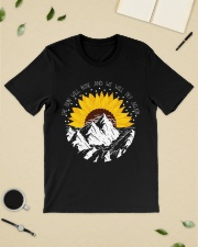 Sunflower the sun will rise and we will try again Premium Fit Mens Tee lifestyle-mens-crewneck-front-19